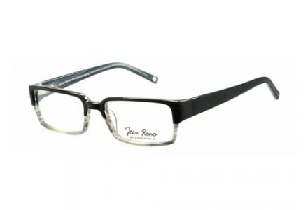 Lunettes de vue mixte JEAN RENO Noir RENO 1344 C4 53/18