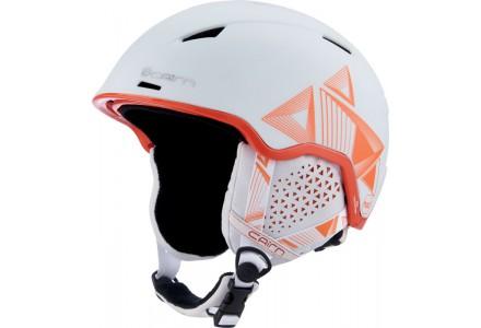 Casque de ski mixte CAIRN Blanc INFINITI Blanc Evolution Orange 54/56