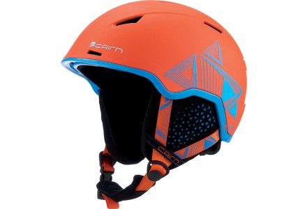 Casque de ski mixte CAIRN Orange INFINITI Orange Evolution Cyan Spacial 54/56
