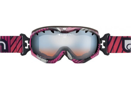 Masque de ski pour femme CAIRN Rose JAM Breackdown Rose SPX 3000