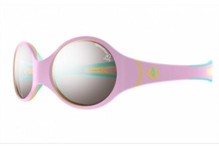 Lunettes de soleil pour bébé JULBO Rose Loop Rose / Bleu ciel - Spectron 4 Baby