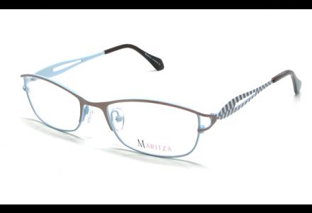 Lunettes de vue pour femme MARITZA Marron M 0264 MARRON/BRN 52/18