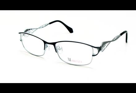 Lunettes de vue pour femme MARITZA Noir M 0277 NOIR/BLS 52/17