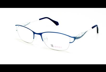 Lunettes de vue pour femme MARITZA Bleu M 0279 BLEU/CAN 52/17
