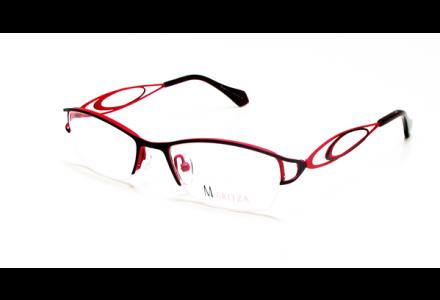 Lunettes de vue pour femme MARITZA Rouge M 0280 ROUGE/BUP 49/17