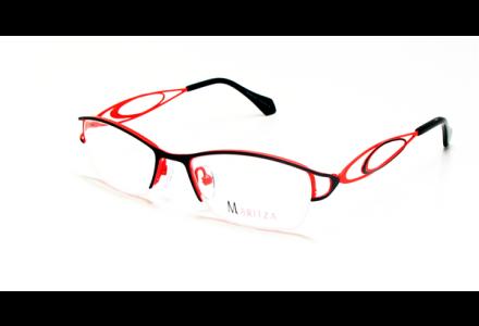 Lunettes de vue pour femme MARITZA Rouge M 0280 GRIS/GRO 49/17