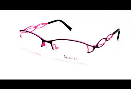 Lunettes de vue pour femme MARITZA Rose M 0281 NOIR/BLP 52/18
