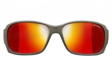Lunettes de soleil pour homme JULBO Vert MonteBianco Army / Camel / Orange - Spectron 3 CF