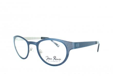 Lunettes de vue mixte JEAN RENO Bleu RENO 1401 C2 BLEU 47/22