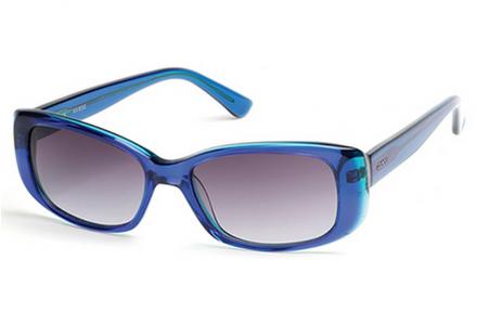 Lunettes de soleil pour femme GUESS Bleu GU 7408 90X 52/15