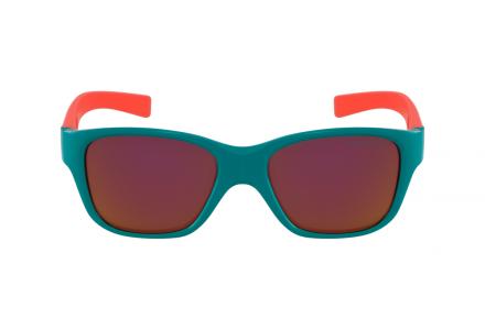 Lunettes de soleil pour enfant JULBO Bleu Turn Turquoise brillant / Corail mat - Spectron 3 CF 45/14