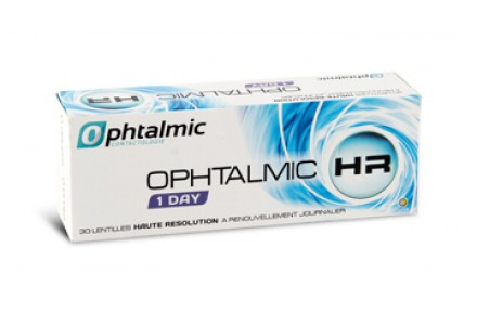 Lentilles OPHTALMIC Ophtalmic HR 1 Day 30L