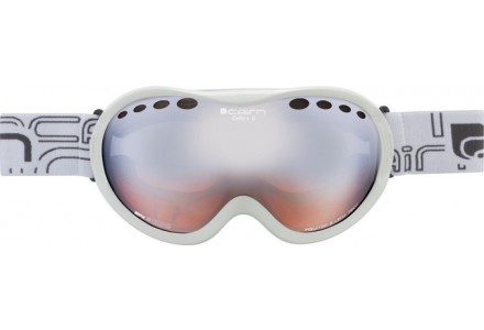 Masque de ski mixte CAIRN Blanc OPTICS OTG Blanc Mat SPX 3000