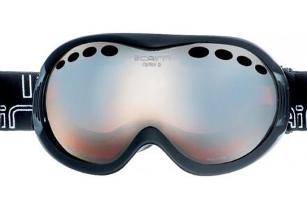 Masque de ski mixte CAIRN Noir OPTICS OTG noir Mat SPX 3000
