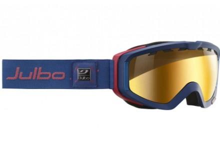 Masque de ski mixte JULBO Bleu ORBITER II Bleu Marine Zebra