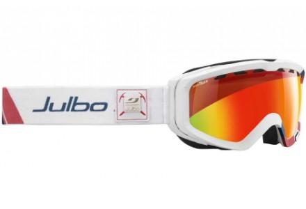 Masque de ski mixte JULBO Blanc ORBITER II Bleu / Blanc / Rouge Snow Tiger