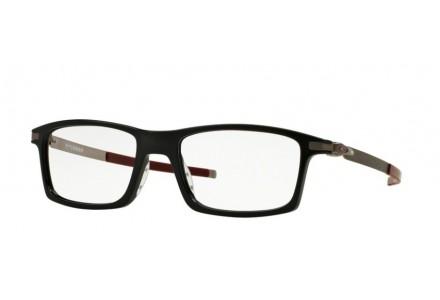 Lunettes de vue pour homme OAKLEY Noir Mat OX 8050-05 PITCHMAN 53/18