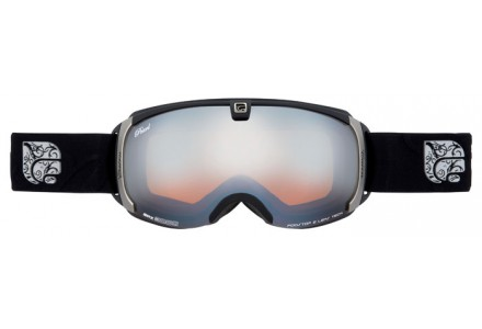 Masque de ski mixte CAIRN Noir Mat PEARL Noir Mat Argent SPX 3000