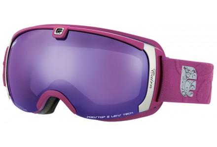 Masque de ski mixte CAIRN Violet PEARL Cranberry Mat Violet SPX 3000 IUM