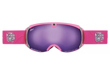 Masque de ski mixte CAIRN Rose PEAR Fuchsia Mat Violet SPX 3000 IUM