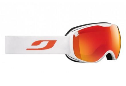 Masque de ski mixte JULBO Blanc PIONEER Blanc / Orange Spectron 3+