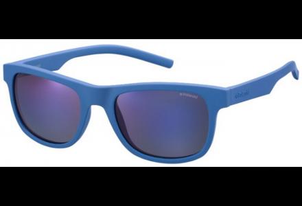Lunettes de soleil mixte POLAROID Bleu PLD 6015/S ZDI JY 51/19