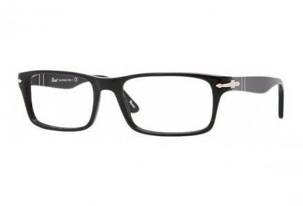 Lunettes de vue pour homme PERSOL Noir PO 3050V 95 55/18