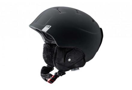 Casque de ski mixte JULBO Noir POWER Noir Denim- 58/60