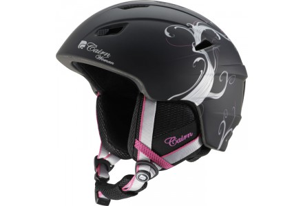 Casque de ski mixte CAIRN Noir Mat PROFIL Noir Mat Vegetal Argent 59/60