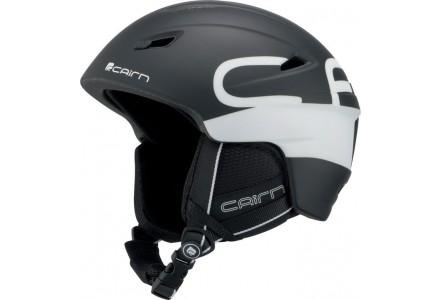 Casque de ski mixte CAIRN Noir Mat PROFIL Noir Mat Logo 57/58
