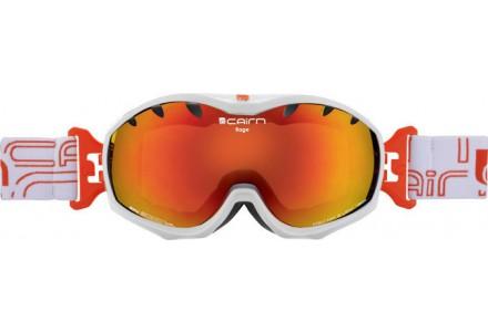 Masque de ski mixte CAIRN Blanc RAGE Blanc Brillant SPX 3000