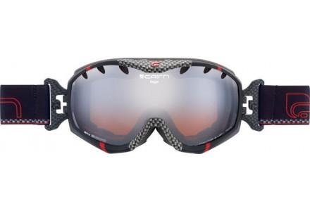 Masque de ski mixte CAIRN Noir RAGE Noir/Carbone/Rouge SPX 3000
