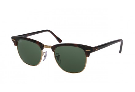 Lunettes de soleil mixte RAY BAN Ecaille RB 3016 CLUBMASTER W0366 49/21
