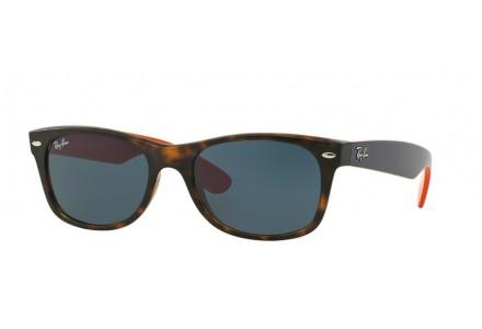 Lunettes de soleil mixte RAY BAN Ecaille RB 2132 NEW WAYFARER 6180R5 55/18
