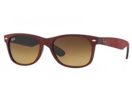 Lunettes de soleil pour homme RAY BAN Bordeaux RB 2132 NEW WAYFARER 624085 55/18