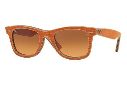 Lunettes de soleil mixte RAY BAN Orange RB 2140 WAYFARER 11653C 50/22