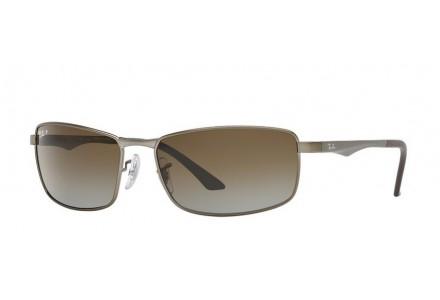 Lunettes de soleil pour homme RAY BAN Noir Mat RB 3498 029/T5 64/17