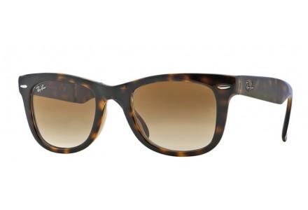Lunettes de soleil pour homme RAY BAN Ecaille RB 4105 FOLDING WAYFARER 710/51 50/20