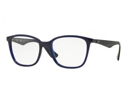 Lunettes de vue pour homme RAY BAN Bleu RX 7066 5584 52/17
