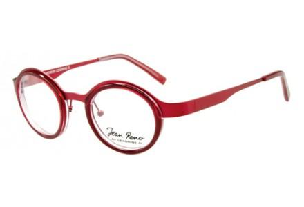 Lunettes de vue mixte JEAN RENO Rouge RENO 1334 C1 43/24