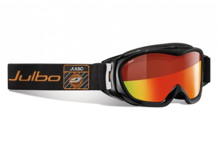 Masque de ski mixte JULBO Noir REVOLUTION Noir / Orange Snow Tiger