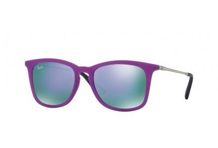 Lunettes de soleil pour enfant RAY BAN Violet RJ 9063S 70084V 48/16