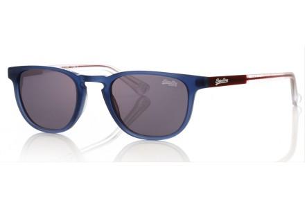 Lunettes de soleil mixte SUPERDRY Bleu SDS ROKU 106 48/21