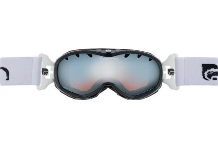 Masque de ski pour enfant CAIRN Noir RUSH Noir/Blanc Brillant SPX 3000