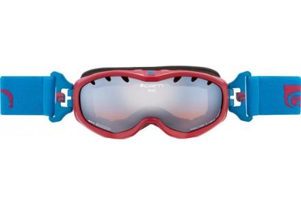 Masque de ski pour enfant CAIRN Rouge RUSH Fuchsia/Turquoise Brillant SPX 3000