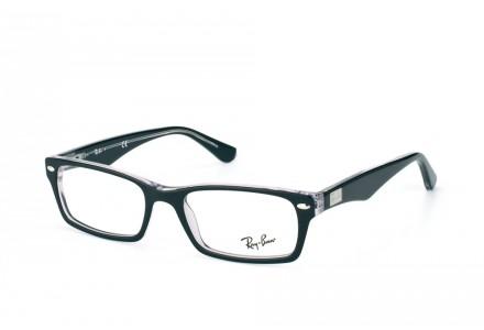 Lunettes de vue mixte RAY BAN Noir RX 5206 2034 52/18