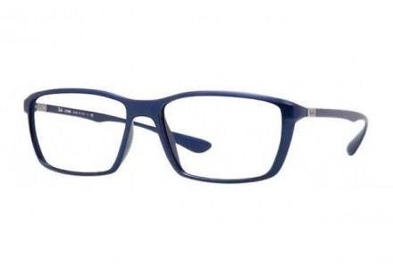 Lunettes de vue pour homme RAY BAN Bleu RX 7018 5207 57/16