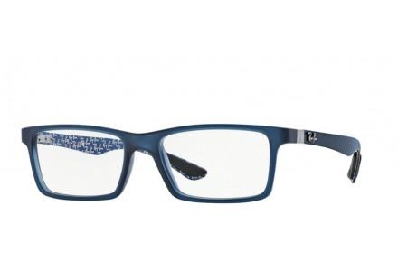 Lunettes de vue pour homme RAY BAN Bleu RX 8901 CARBON FIBRE 5262 55/17