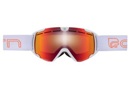 Masque de ski pour enfant CAIRN Blanc SCOOP Blanc Mat SPX 3000 IUM