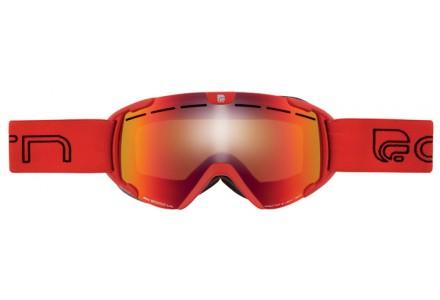 Masque de ski pour enfant CAIRN Rouge SCOOP Rouge Mat SPX 3000 IUM